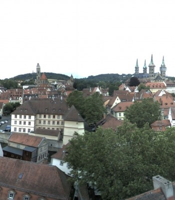Blick vom Geyerswörth-Turm Bamberg