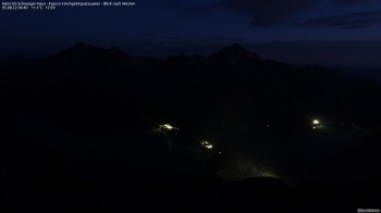 High Mountain Reservoirs Kaprun - View to the West
