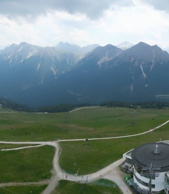 Kronplatz Bruneck: Panoramic View