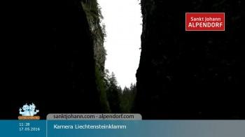 Liechtensteinklamm in St. Johann Alpendorf