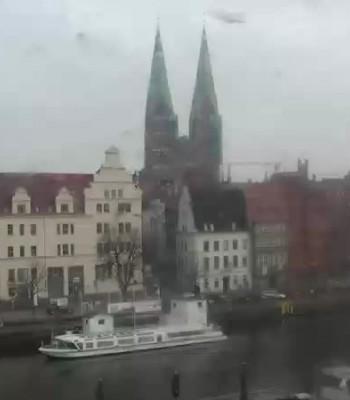 Lübeck: Panorama Altstadt