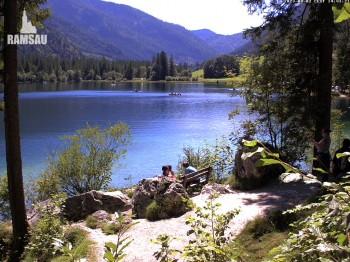 Luitpoldweg am Hintersee in Ramsau bei Berchtesgaden