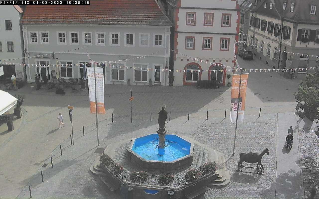 Webcam Marktplatz Volkach • Steigerwald • Panorama