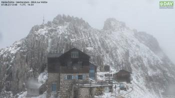 Meilerhütte - Blick zur Hütte