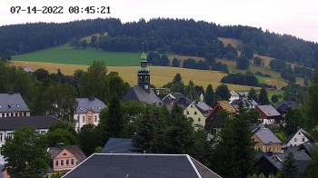 Neudorf in the Ore Mountains