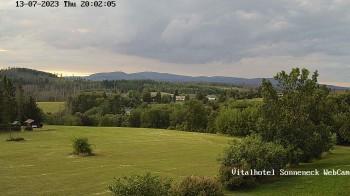 Hohegeiß-Braunlage: Panorama view