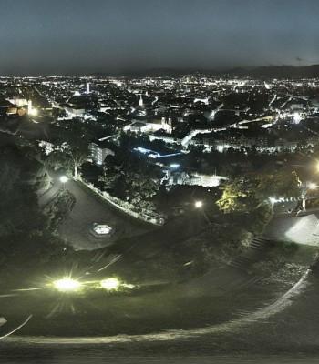 Graz: Panorama vom Schlossberg