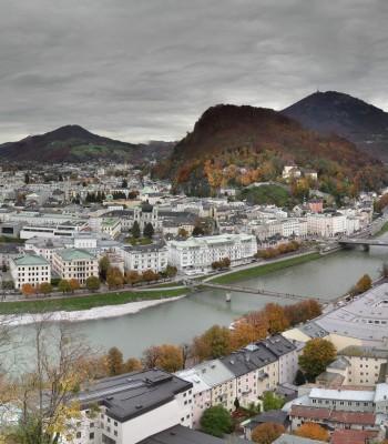 Panorama Stadt Salzburg