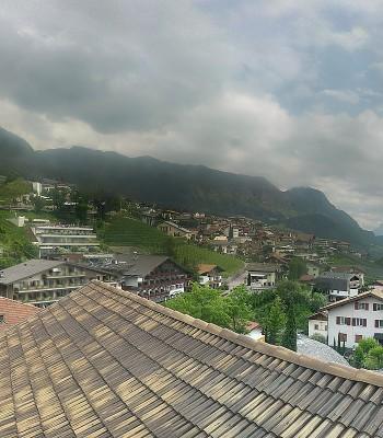 Panoramablick Schenna