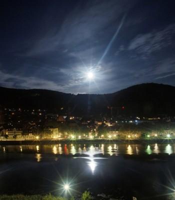 Panoramic view of Heidelberg