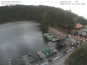 Panoramic view of Lake Mummelsee