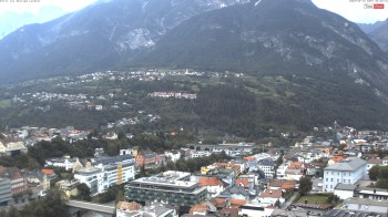 Panoramic view of Landeck