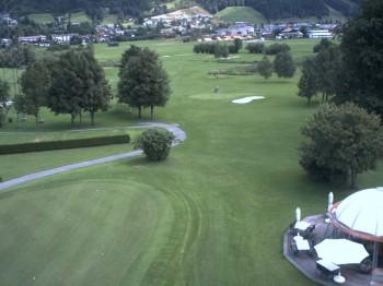 Radstadt: Blick auf den Golfplatz