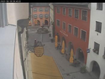 Rathausgasse in Bludenz, Vorarlberg, Austria