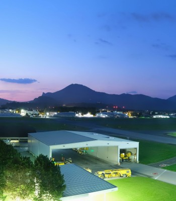 Salzburg Airport Panorama