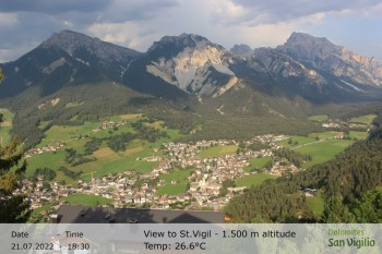 San Vigilio in South Tyrol at 1.500 m