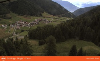 Schlinig in Valley Schlinig (South Tyrol)