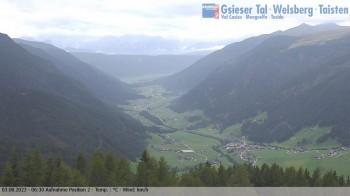 Sicht auf St. Magdalena im Gsieser Tal, Südtirol