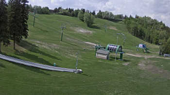 Snow Valley Aerial Park in Edmonton, Canada