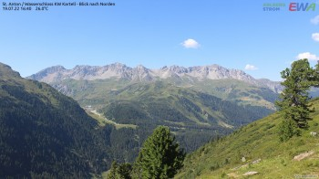 St. Anton - View to the North