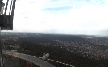 Stuttgart TV Tower and View of the City