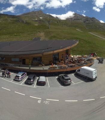 Timmelsjoch: Mautstation Top Mountain Crosspoint