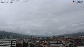 Uni Innsbruck - Blick ins Unterinntal