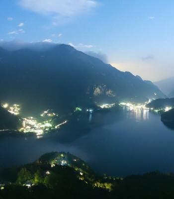 Valle di Ledro - Blick auf den Ledrosee