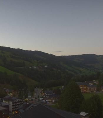 View from Hotel Talblick Hinterglemm