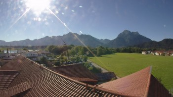 View from the Hotel Sommer (Allgäu)