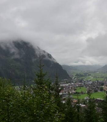 View of Mayrhofen im Zillertal