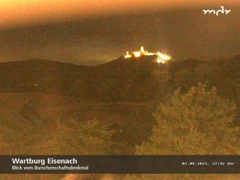 View to Wartburg Eisenach
