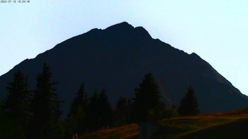 View towards Rosskogel, Oberperfuss (Tyrol)
