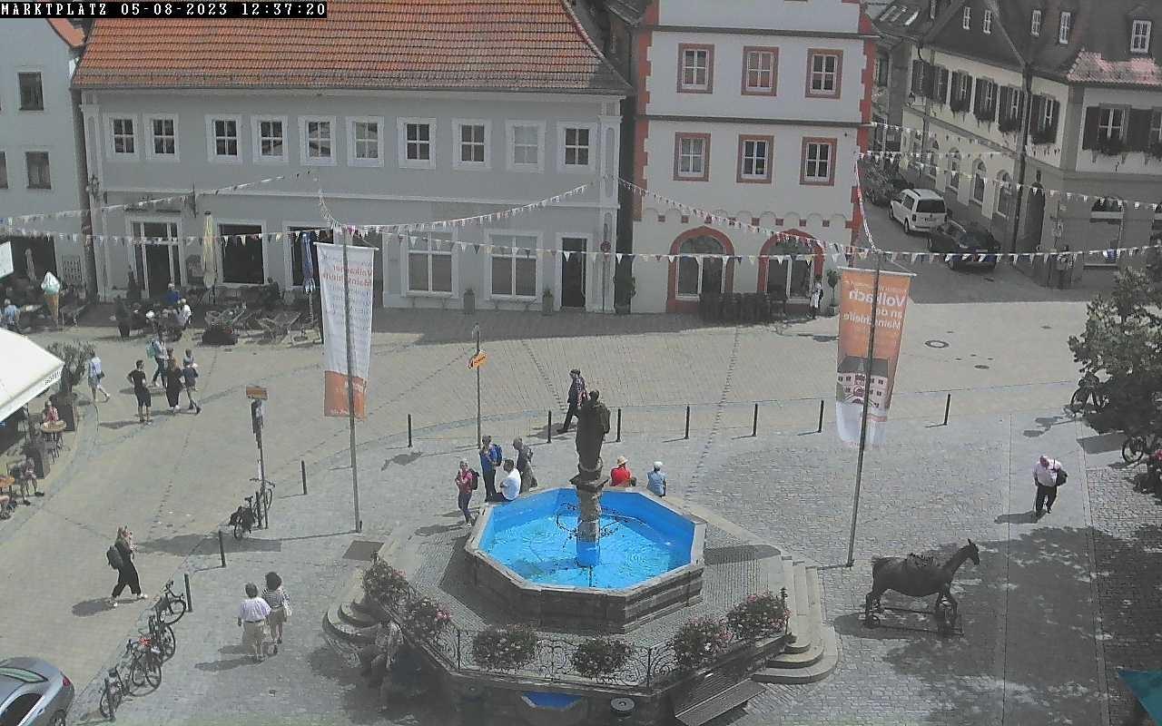 Webcam Volkach: Market place