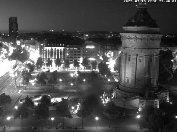 Water Tower in Mannheim
