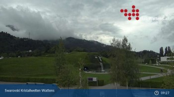 Wattens: Swarovski Kristallwelten Video-Webcam