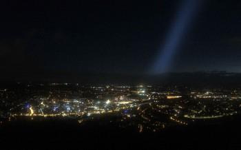 Fernsehturm Stuttgart - Blick auf die Stadtmitte
