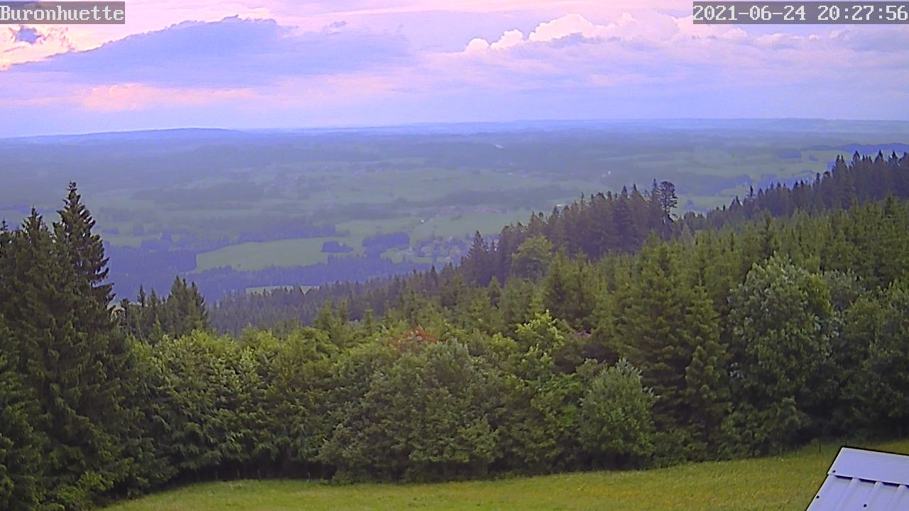 Webcam Featuring A View Of The Buron Hutte