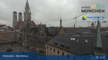 Marienplatz München - Altes Rathaus
