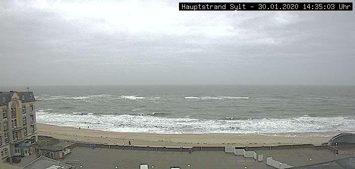 Webcam Westerland Promenade