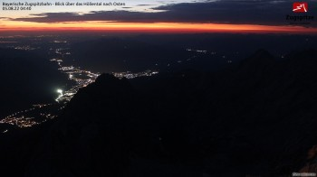 Zugspitze - View to the East